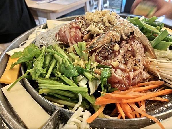 銅盤烤肉豬肉2