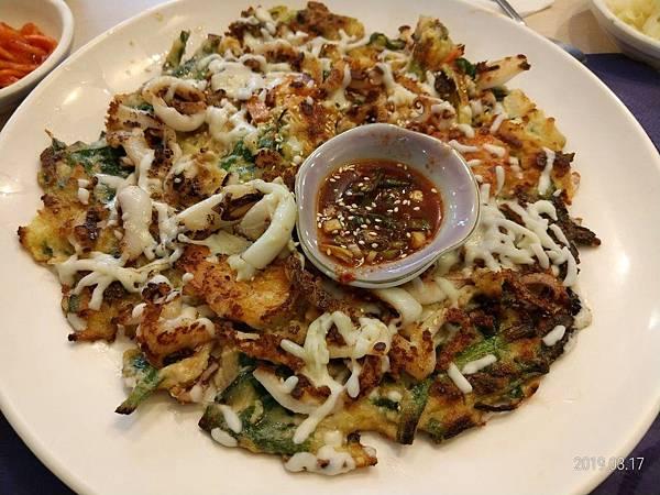 韭菜煎餅(海鮮)