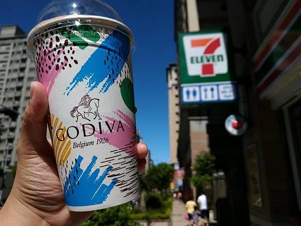 【7-11 NO.18】GODIVA和7-ELEVEN聯手推出夏天的巧克力飲品@GODIVA經典冰可可1