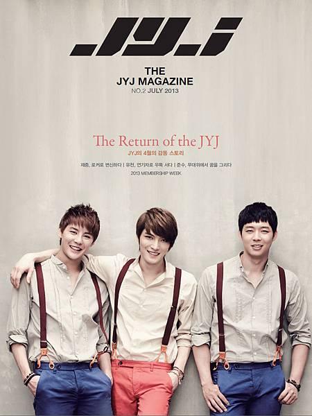 JYJ Magazine 2 Cover