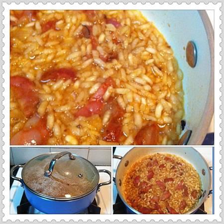 葡式臘腸燴意大利飯