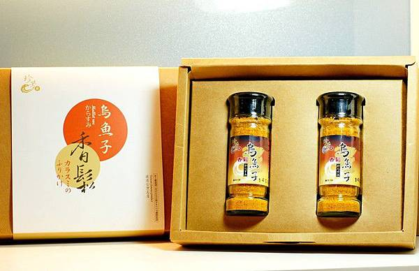 珍芳烏魚子香鬆兩瓶裝禮盒