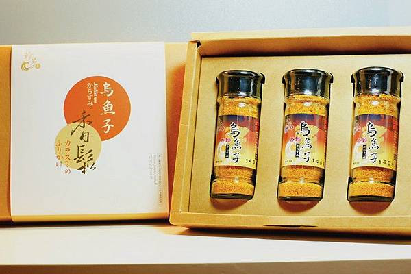 珍芳烏魚子香鬆三瓶裝禮盒