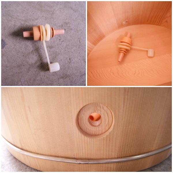 雅典木桶蒸腳桶3