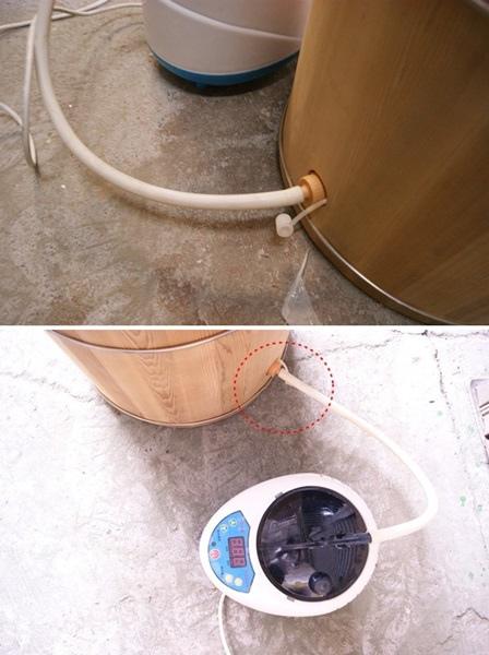 雅典木桶蒸腳桶6