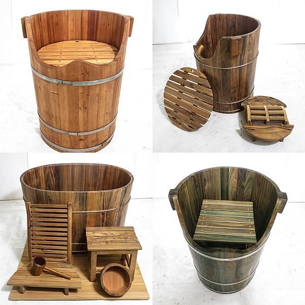 泡腳桶木材