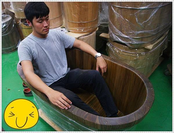 雅典木桶泡澡桶6
