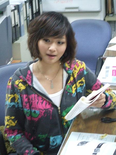 張文琦個人讀書會照片