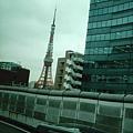 途經東京鐵塔
