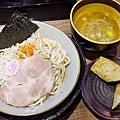 麺屋壱の穴--カレーチキンロールつけ麺