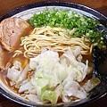 京風醤油ラーメン