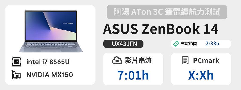 續航力 - ASUS ZenBook 14 UX431FN.jpg