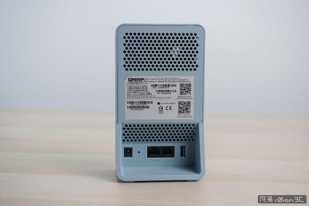 「開箱」QNAP QMiro-201W Mesh Wi-Fi 路由器 - 訊號死角剋星,為遠端工作而生 - 5