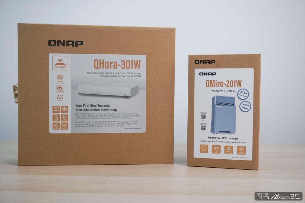 「開箱」QNAP QMiro-201W Mesh Wi-Fi 路由器 - 訊號死角剋星,為遠端工作而生 - 1