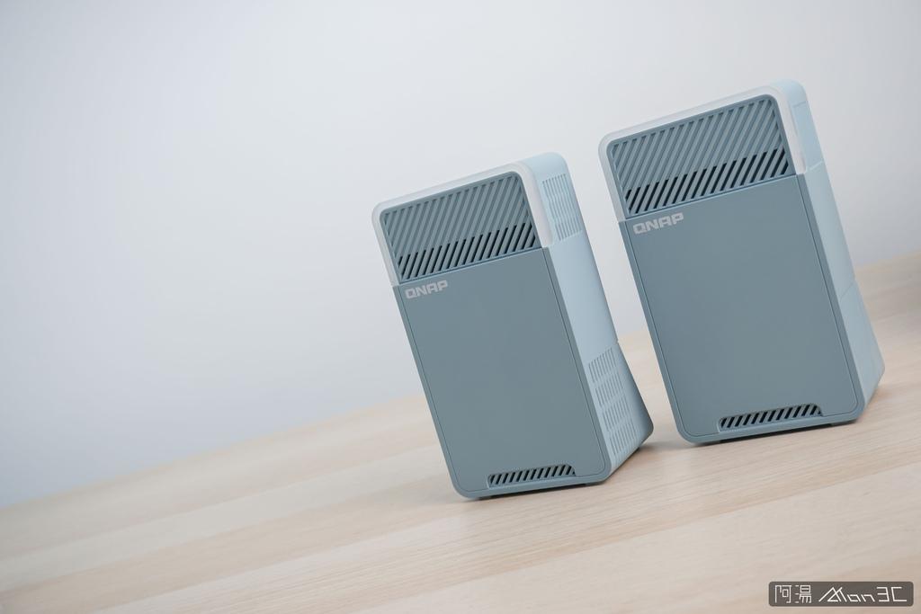 「開箱」QNAP QMiro-201W Mesh Wi-Fi 路由器 - 訊號死角剋星,為遠端工作而生 - 2
