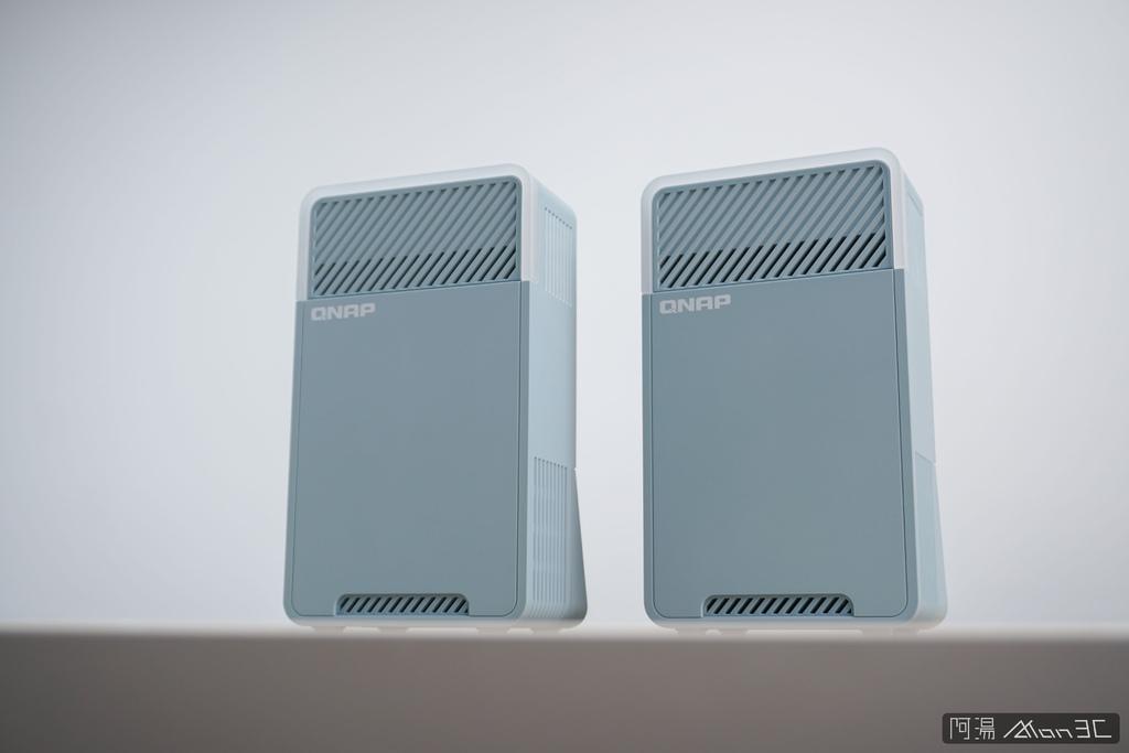 「開箱」QNAP QMiro-201W Mesh Wi-Fi 路由器 - 訊號死角剋星,為遠端工作而生 - 22