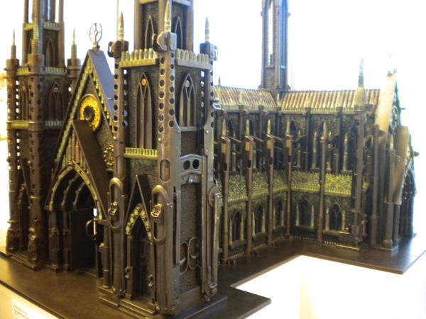 這是一座用子彈、槍蓋的教堂