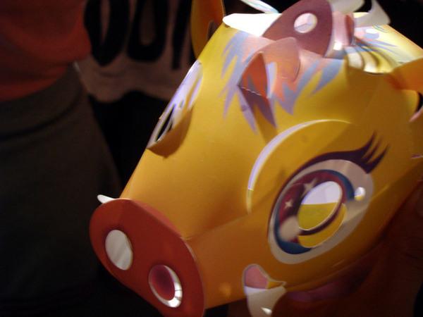 高雄市的主題燈籠-丫牛牛幫我組裝的