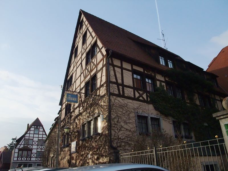 羅騰堡的hotel