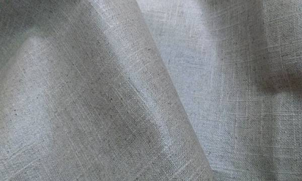素棉麻防水布2