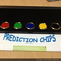 Prediction Chips with Case (黃銅版)