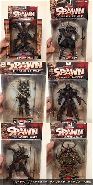 SPAWN-19代全套六支