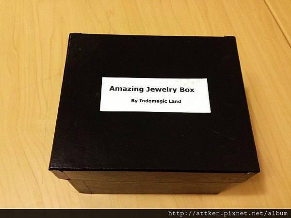 Amazing jewelry box