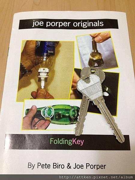 folding key