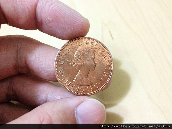 Penny split coin (2)