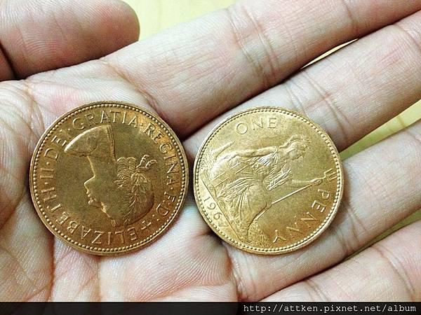 Penny split coin (4)