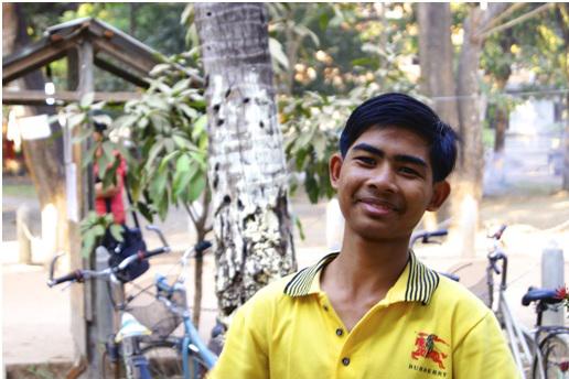 柬埔寨學生-Thorng