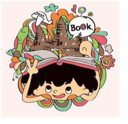 送書到柬埔寨活動Logo