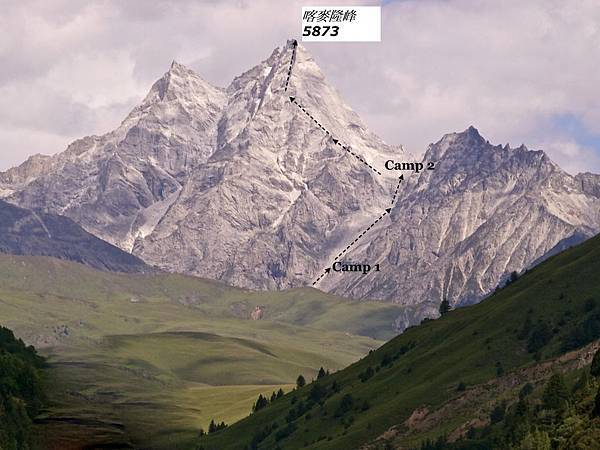 喀麥隆神山攀登路線
