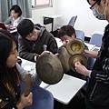 同學們練習