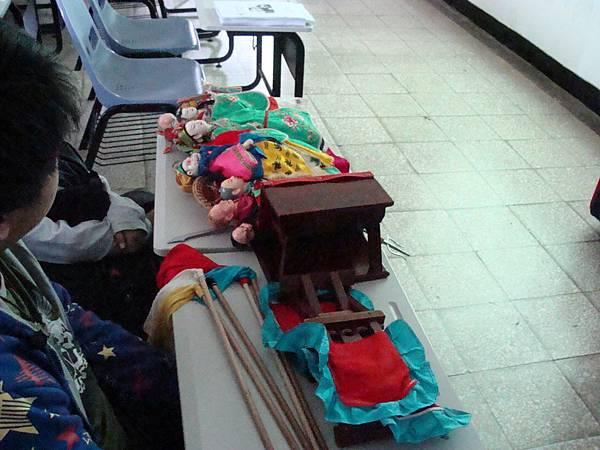布袋戲道具