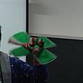 示範:旋轉布袋戲偶
