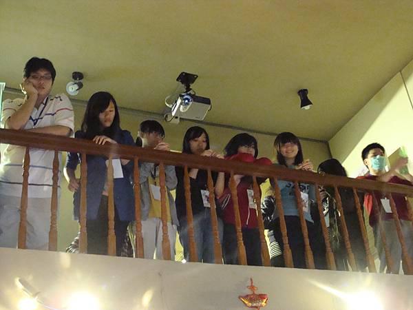 二樓的同學們