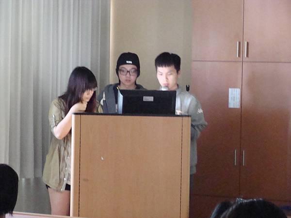 第四組同學報告