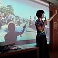 放映101年淡水國際環境藝術節的影片 1005