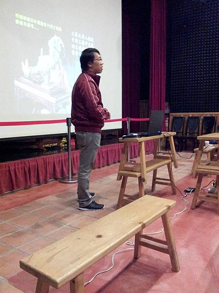 1116老師講述布袋戲歷史