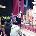 1116同學們見識大型布袋戲