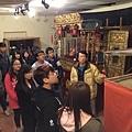 1128參觀布袋戲文物館