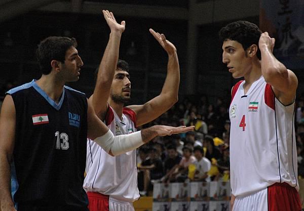 黎巴嫩13號Dagher 伊朗隊4號Arghavan