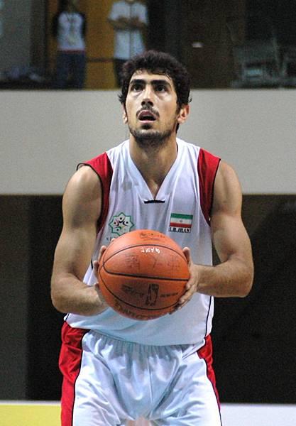 伊朗隊5號Amir曾參加北京奧運與瓊斯盃