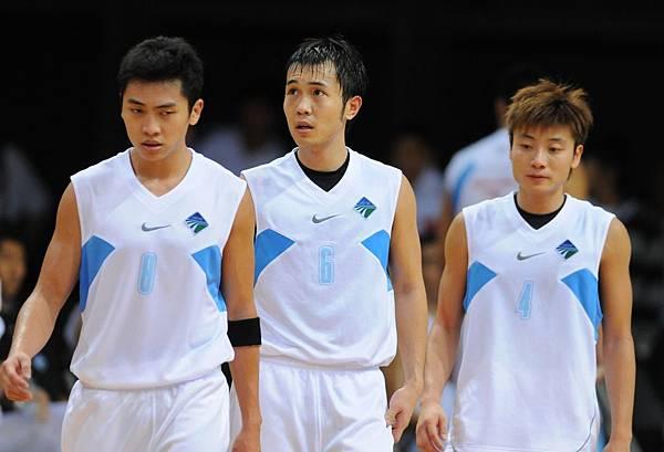香港隊三名後衛