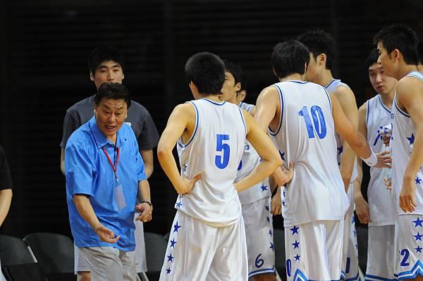 韓國教練大發雷霆