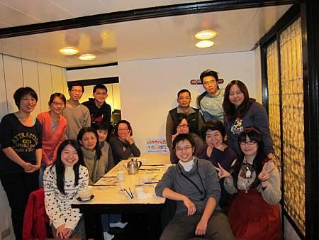 2012年終聚餐