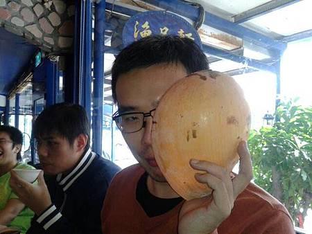 木瓜螺面罩