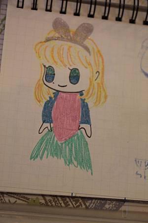 小粉絲畫的莎拉公主