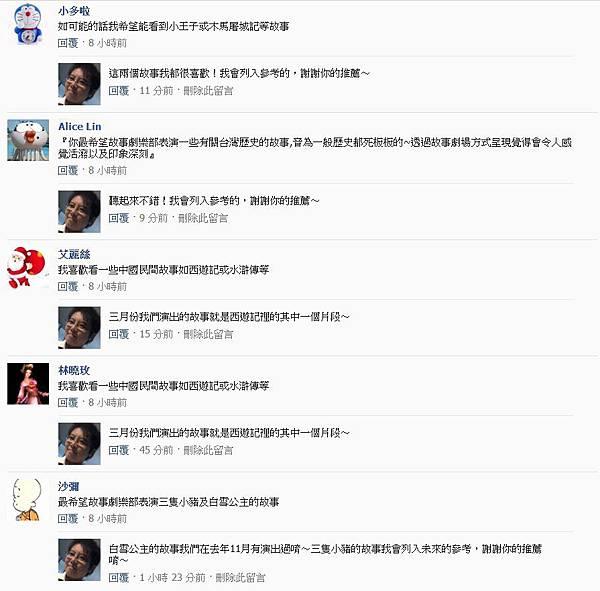粉絲團破兩千留言01
